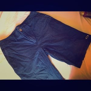 Men's Oakley Navy Blue Shorts